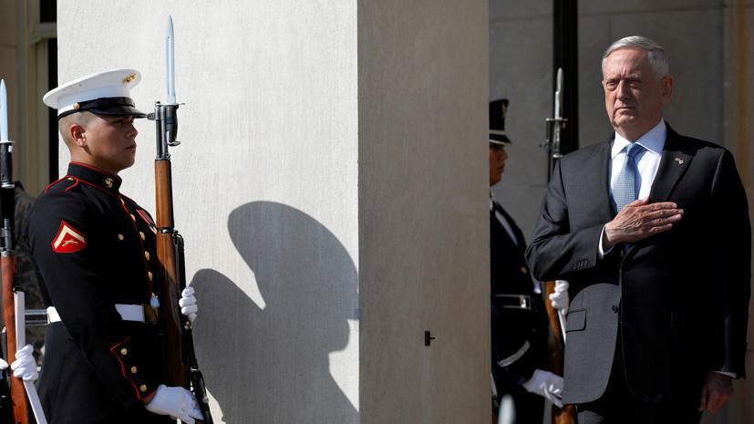 «Массированный ответ»: Пентагон предупредил Пхеньян о последствиях атаки на США и союзников Вашингтона