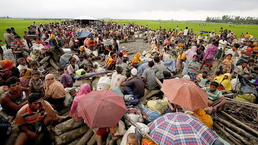 Против своих: из Бангладеш выслали более двух тысяч беженцев-рохинджа
