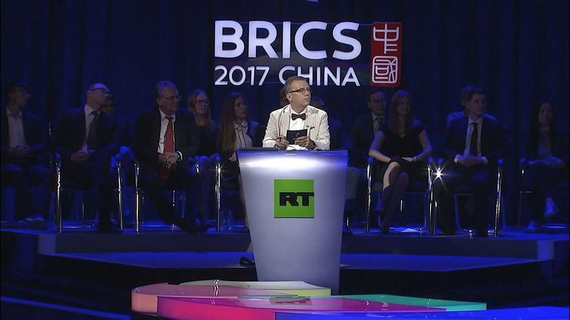 RT принял участие в первых пятисторонних дебатах СМИ стран БРИКС