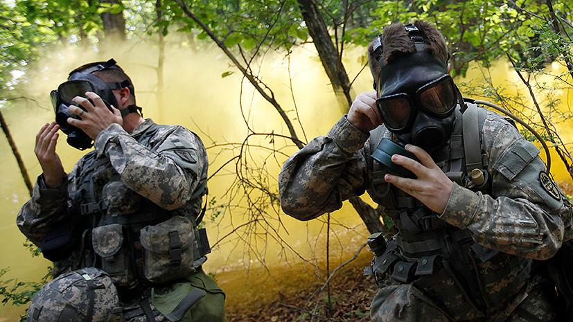 Команда «Газы»: американских военных в Южной Корее подготовят к действиям в условиях радиоактивного заражения