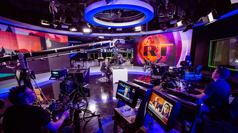 RT — №1 среди новостных каналов на YouTube