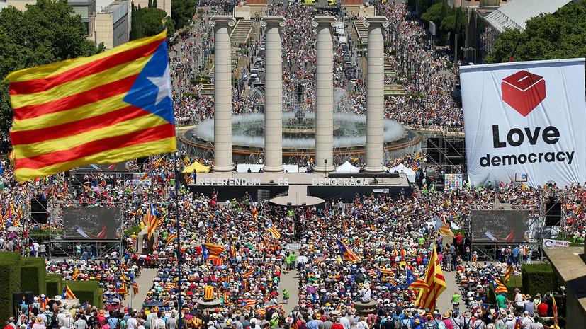 Корона жмёт: почему Каталония вновь готовит референдум о независимости от Испании