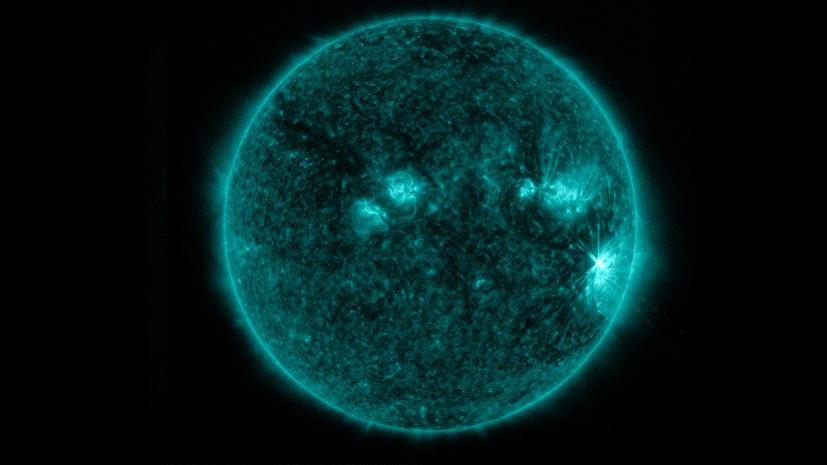 Облако плазмы: вспышки на Солнце уменьшают магнитное поле Земли