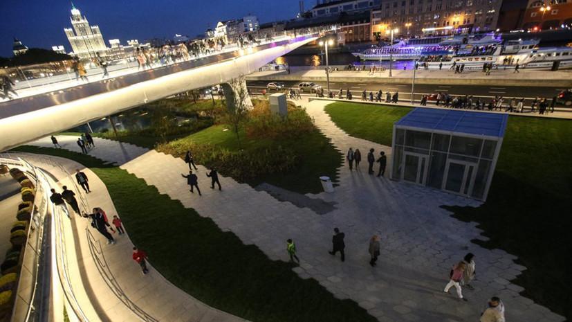 «Нужно прийти и почувствовать»: главный архитектор Москвы рассказал о парке «Зарядье»