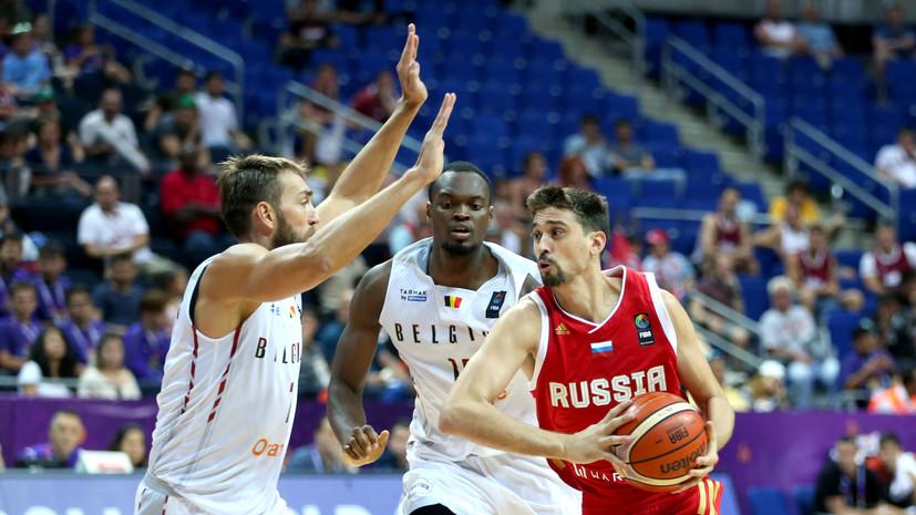 Задача-минимум: сборная России сыграет с Хорватией в плей-офф Евробаскета