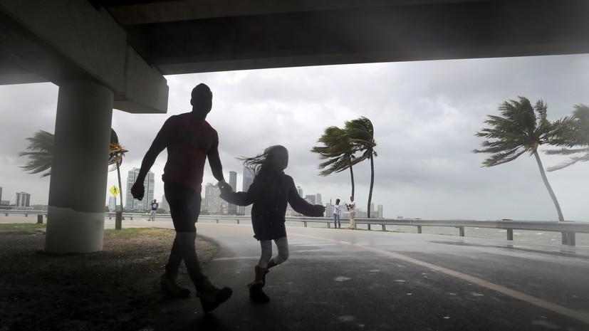 Чрезвычайное положение во Флориде: основной удар урагана «Ирма» придётся на Санкт-Петербург