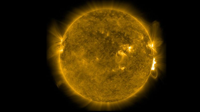 На Солнце произошла новая вспышка