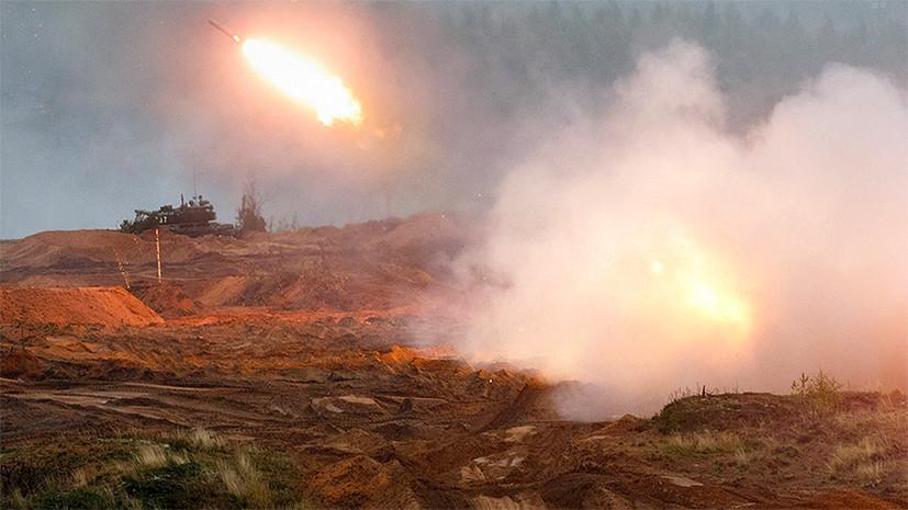 «Терминаторы» на условном фронте: на учениях «Запад-2017» войска Союзного государства отработали уничтожение противника