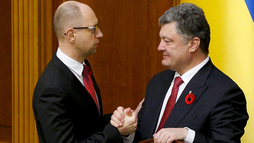Союз недоверия: на каких условиях Блок Петра Порошенко может объединиться с Народным фронтом Яценюка