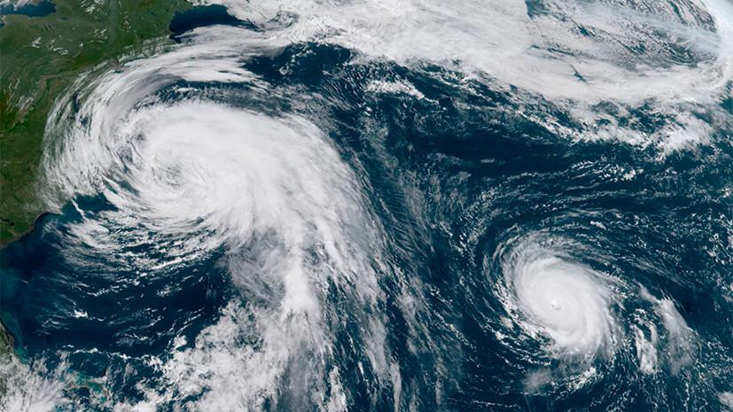 Тропический шторм «Ли» усилился до урагана