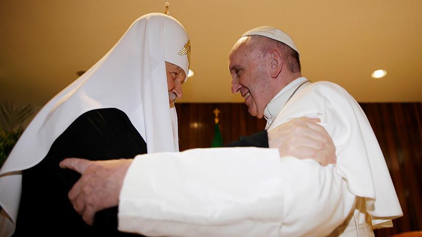 «Не просто центр Европы»: зачем Лукашенко пригласил патриарха Кирилла и папу Франциска на встречу в Минск