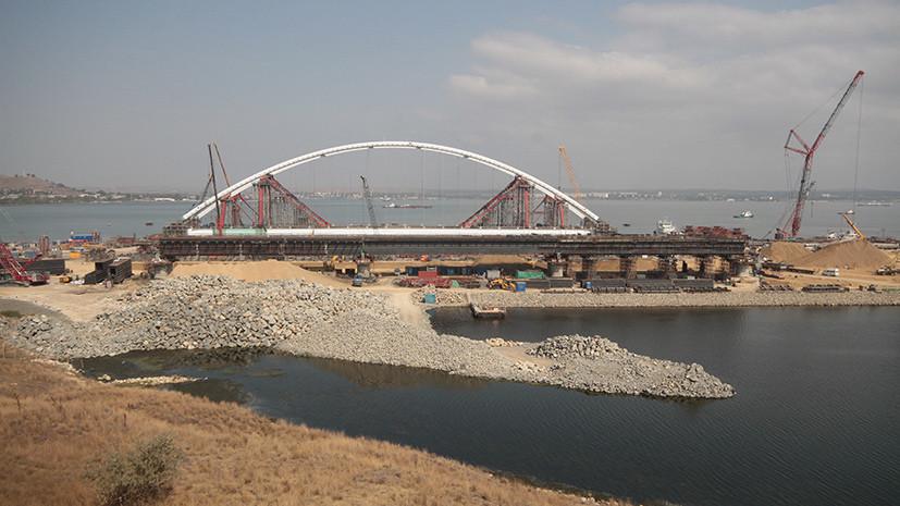 «Голословные обвинения»: в России отреагировали на планы Порошенко подать в суд из-за строительства Крымского моста