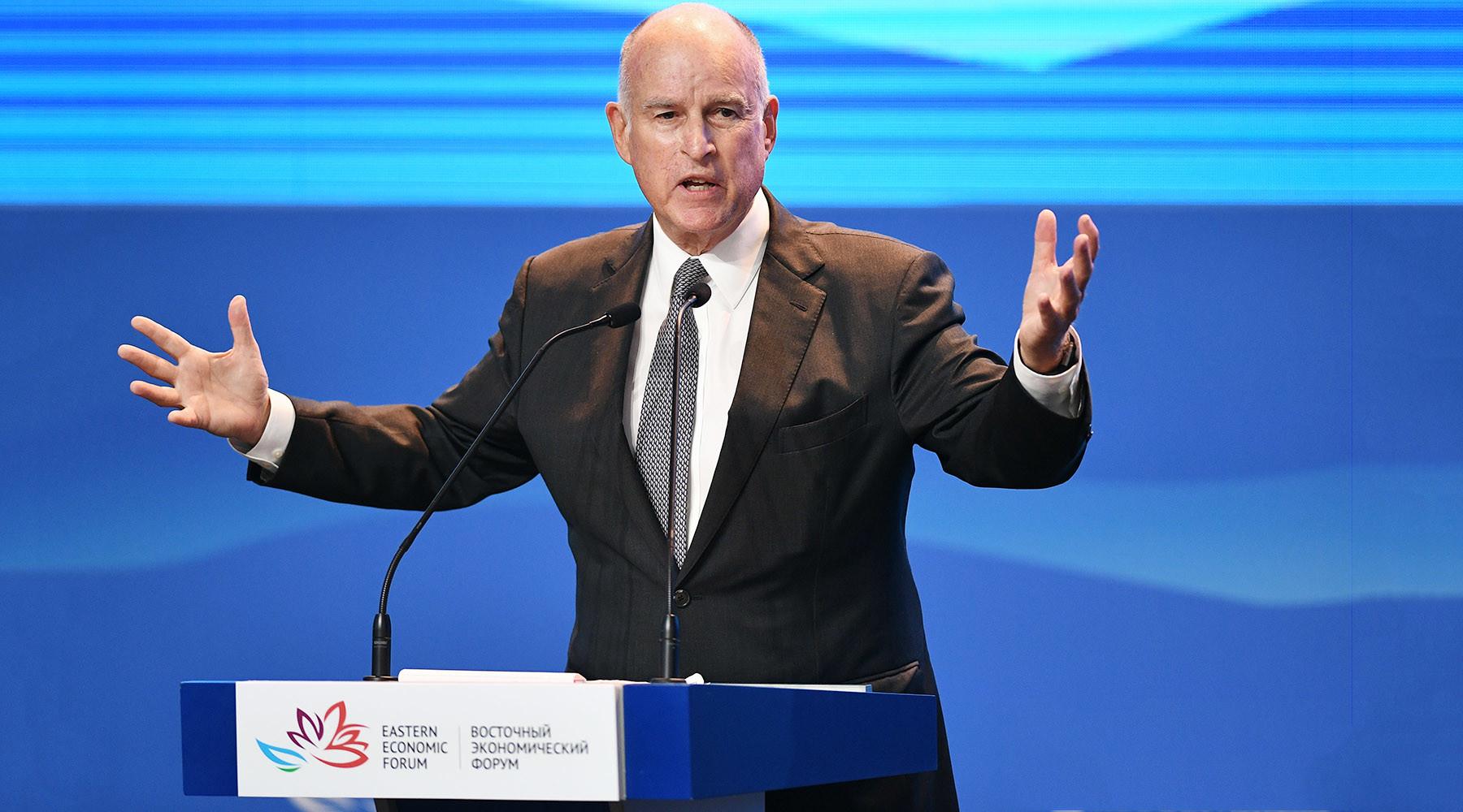 Губернатор Калифорнии об отношениях между Россией и США