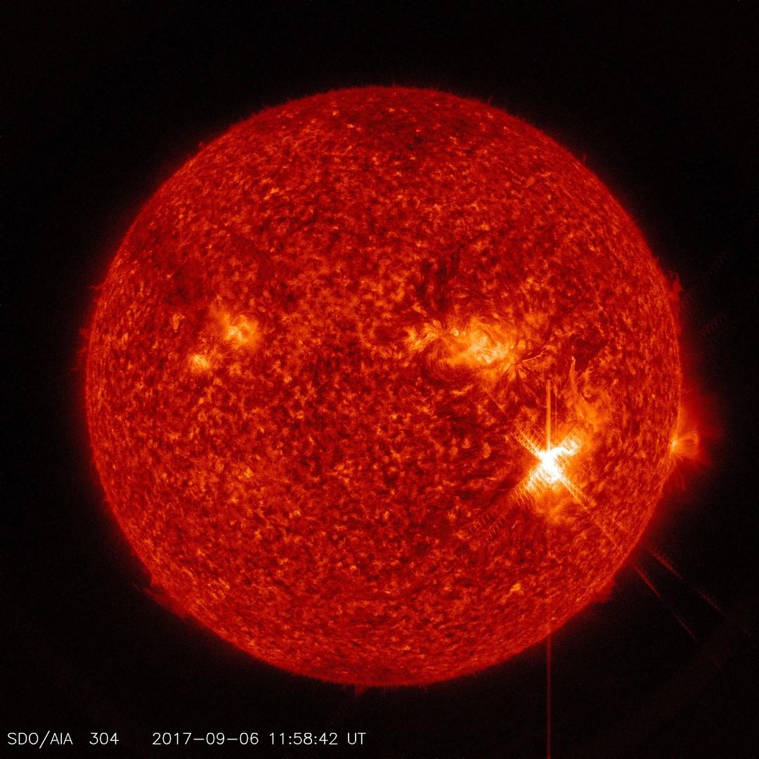 Класс X: астрономы зафиксировали мощнейшую за 12 лет вспышку на Солнце