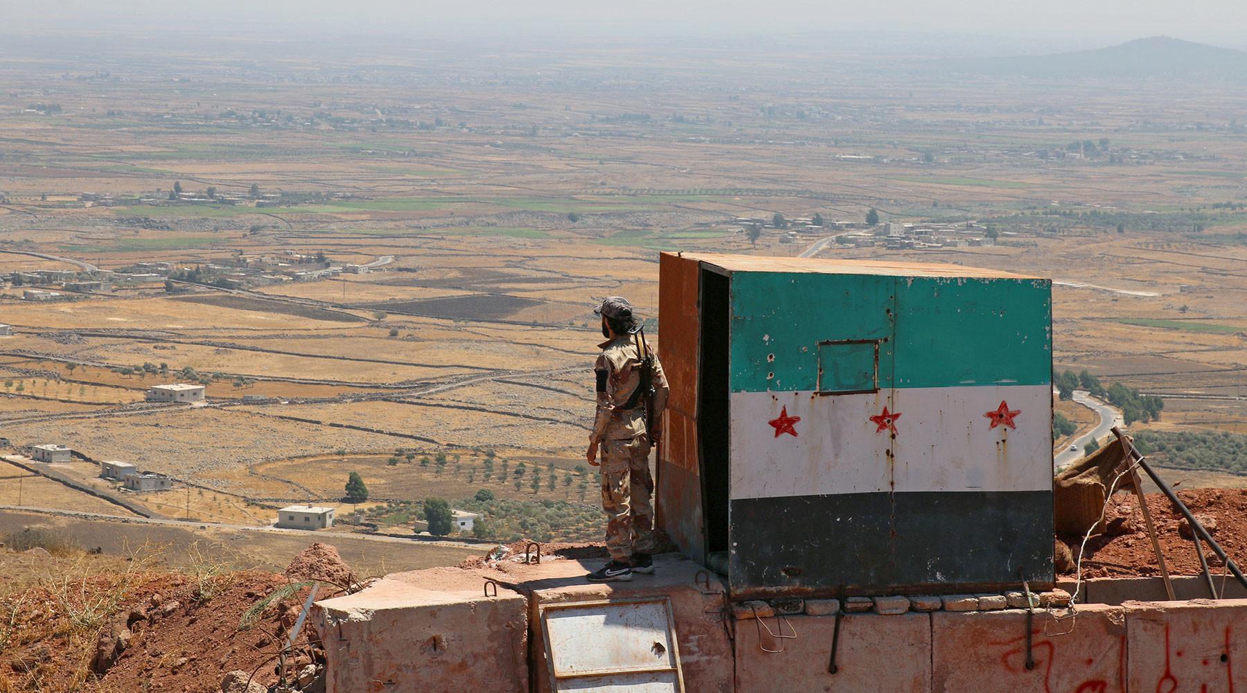 почему ВВС Израиля нанесли удар по позициям сирийской армии в провинции Хама»