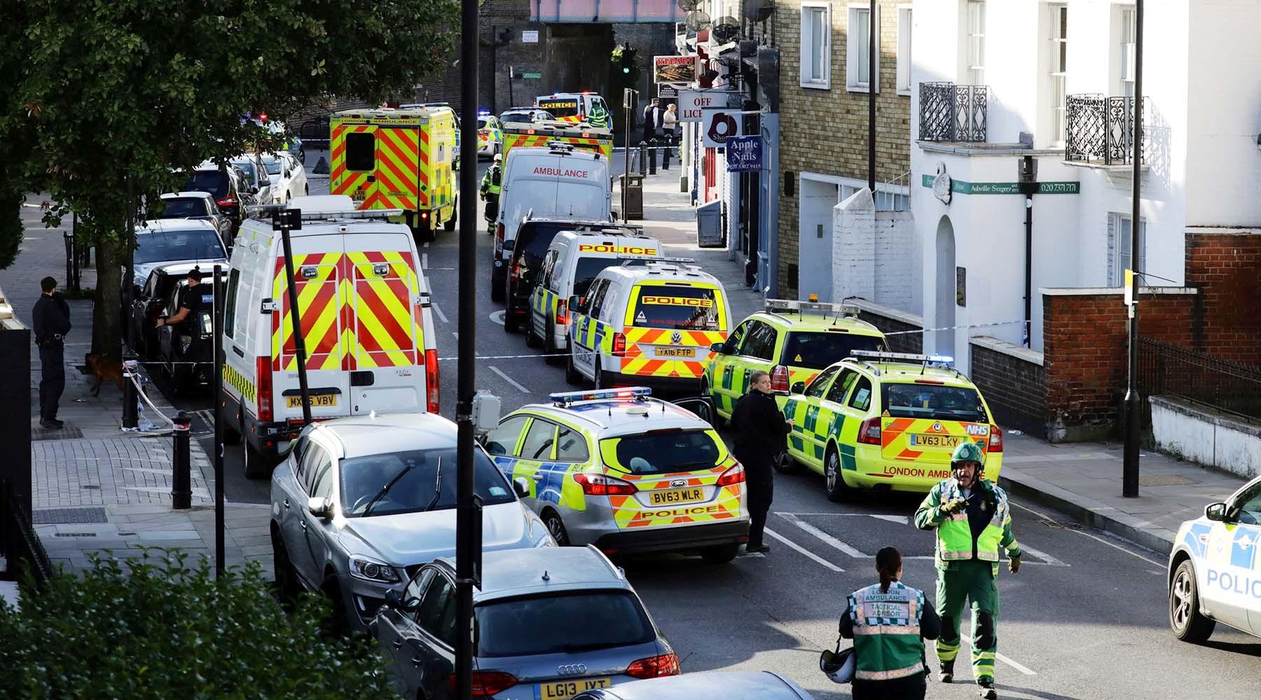 Взрыв в Лондоне: инцидент на станции метро признан терактом