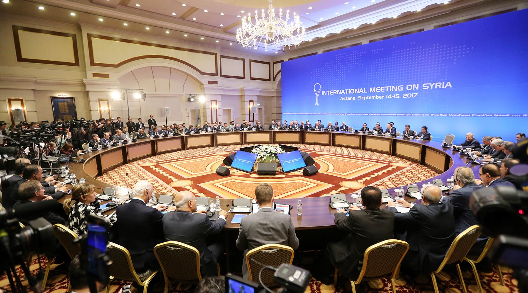 Участники встречи в Астане подписали договор о создании зон деэскалации в Сирии