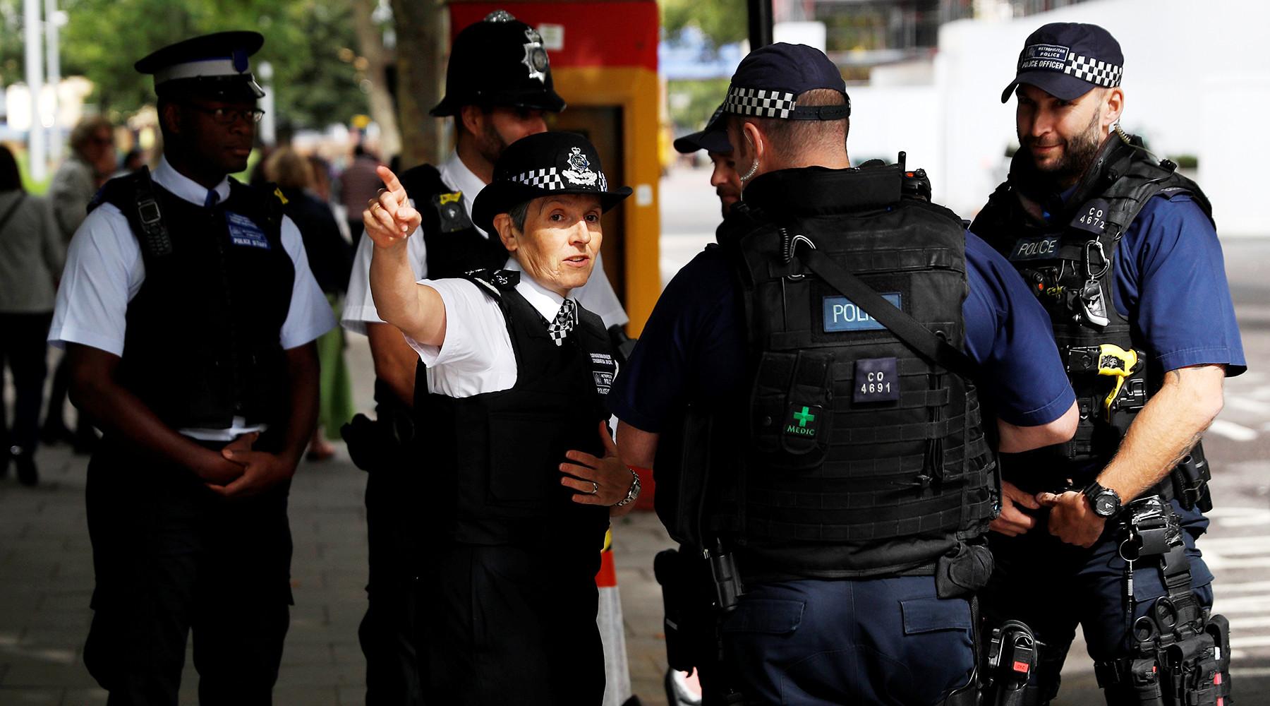 Полиция задержала 18-летнего подозреваемого в организации теракта в Лондоне