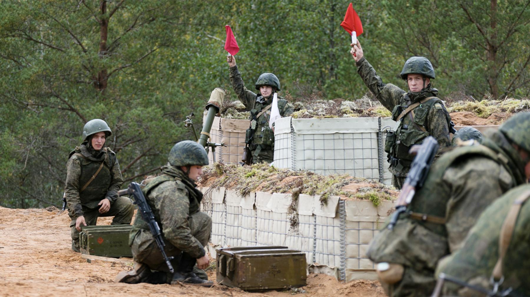 войска Союзного государства начали второй этап учений «Запад—2017»