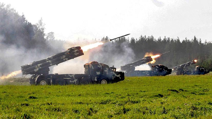 Финальный бой: войска Союзного государства завершили учения «Запад-2017» уничтожением условных террористов