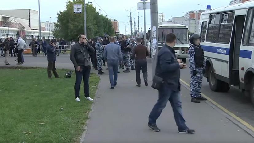 Волнения в «Москве»: полиция возбудила уголовное дело после избиения мигранта охранниками торгового центра