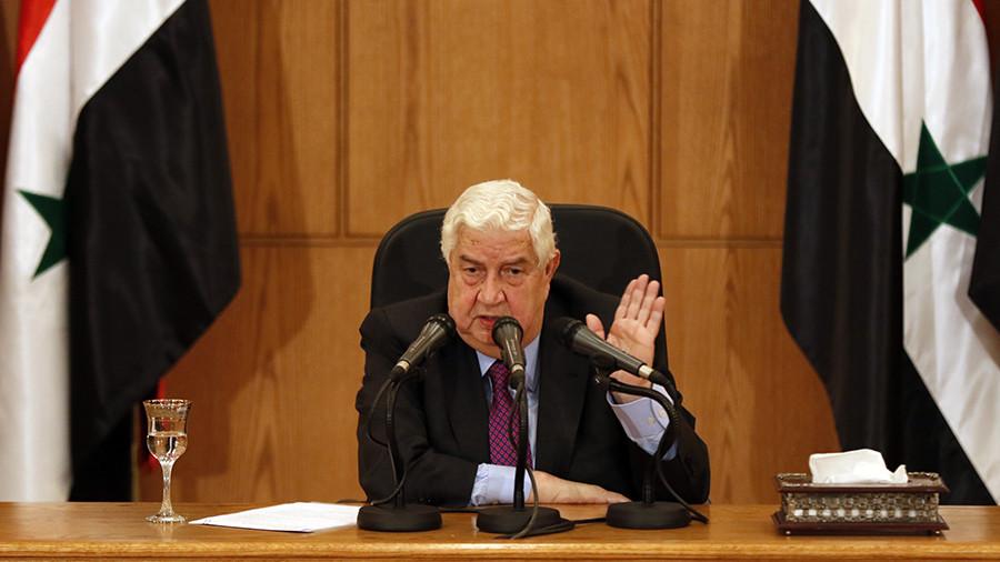 «Победа близка»: глава МИД Сирии рассказал о борьбе с ИГ и обвинил международную коалицию в «оккупации»