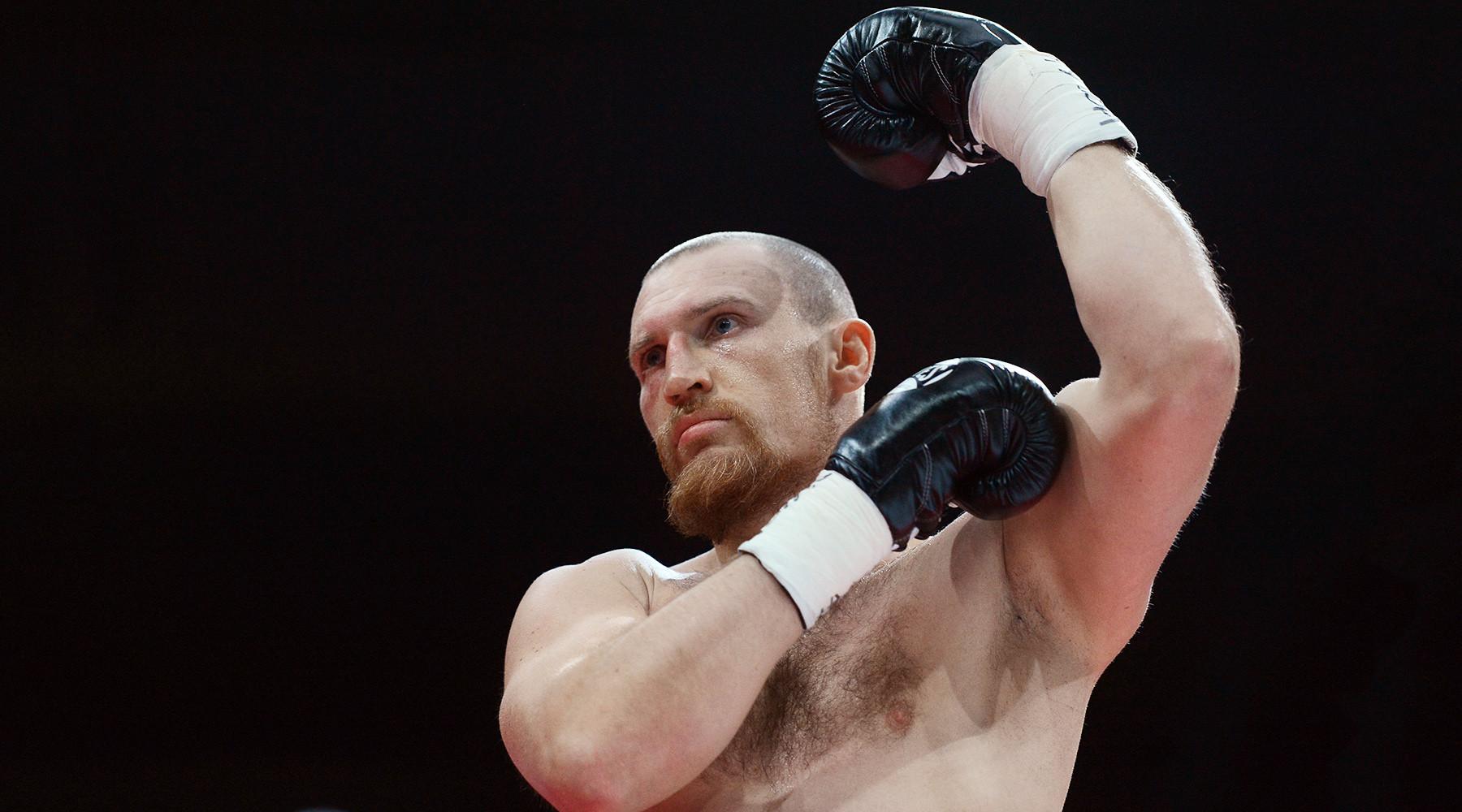Кудряшов проиграл нокаутом в первом поединке Всемирной боксёрской суперсерии