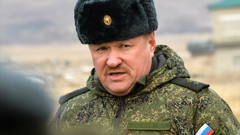 Минобороны: российский генерал-лейтенант погиб в Сирии в результате обстрела ИГ