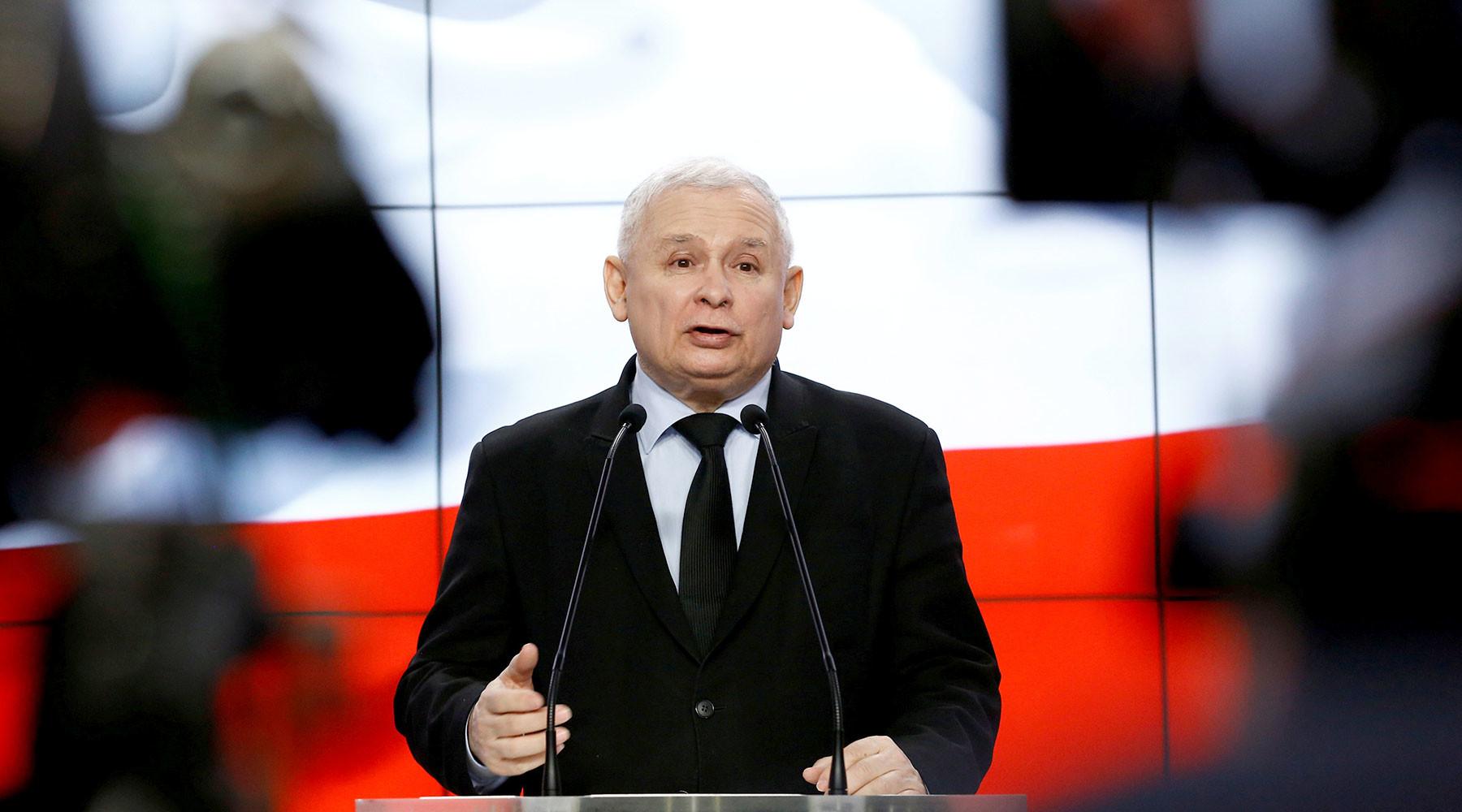 Ярослав Качиньский уверен, что Германия выплатит Польше репарации»