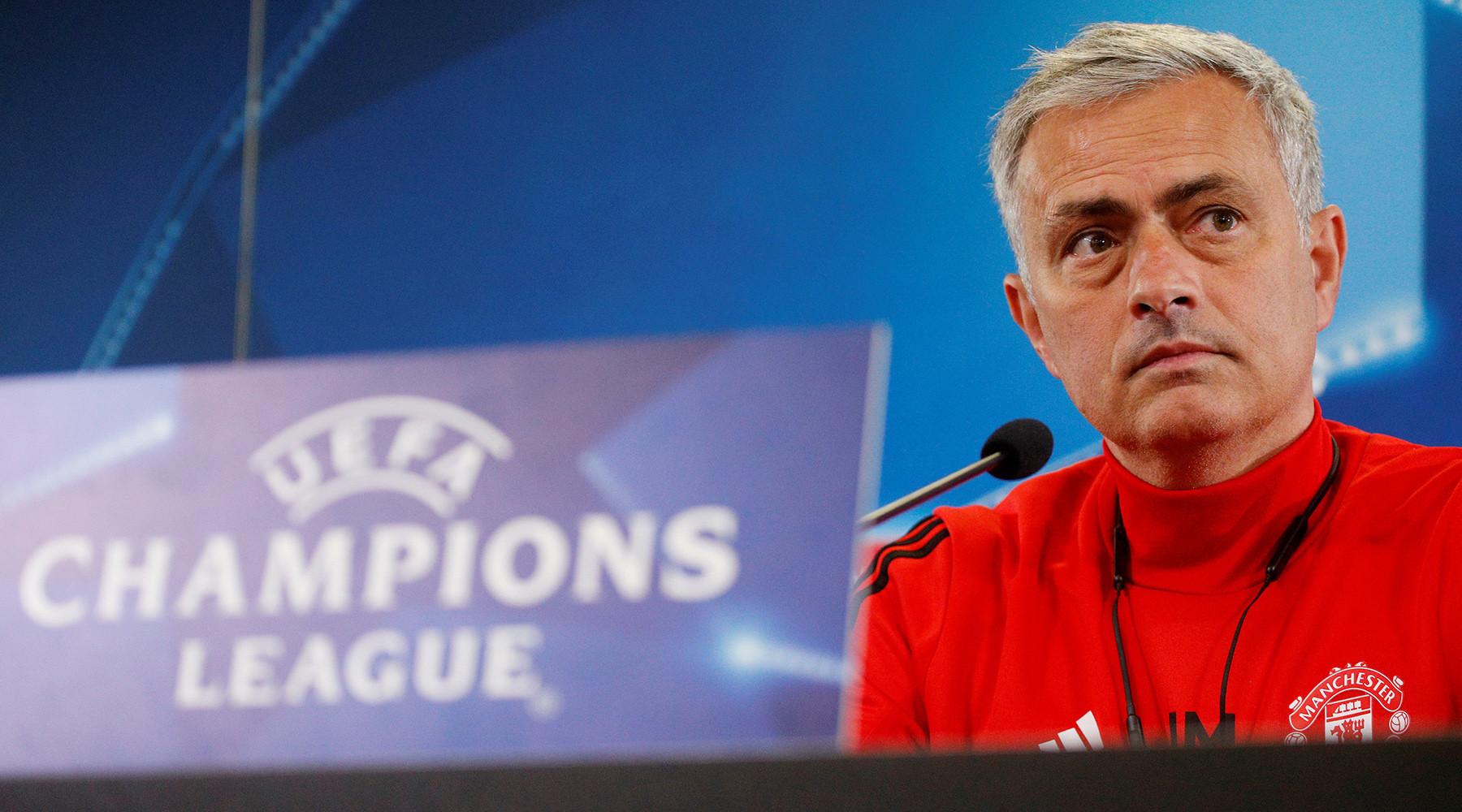 Моуринью похвалил армейцев перед игрой в Лиге чемпионов