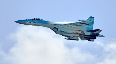 Истребитель Су -35