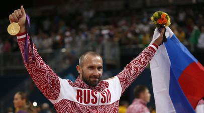 Олимпийский чемпион 2012 года по волейболу Сергей Тетюхин