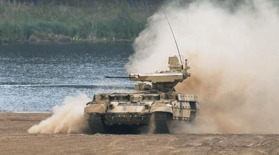 Боевая машина огневой поддержки БМПТ «Терминатор-3»