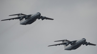 Тяжёлые военно-транспортные самолёты Ил-76