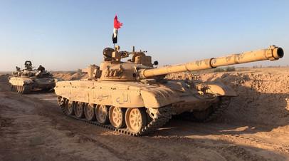 Танки сирийских правительственных войск