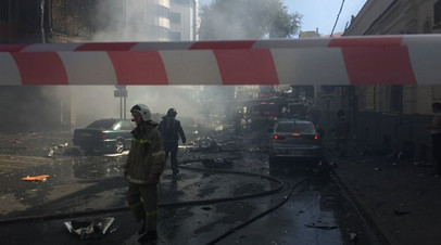 «Атлант» в огне: пожар на рынке в Ростовской области локализован - «Россия»