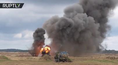 В Польше проходят военные учения НАТО Dragon-2017