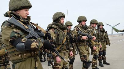 Военнослужащие Сил специальных операций (ССО)