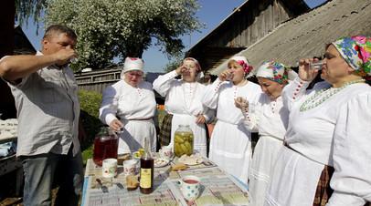 Жители Белоруссии отмечают народный праздник
