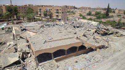 Доклад HRW: в Сирии в результате ударов коалиции под командованием США погибли 84 мирных жителя