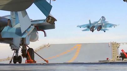 Истребитель Су-33 ВКС РФ