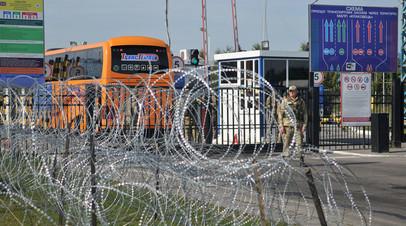 Пункт пропуска «Краковец» на украинско-польской границе