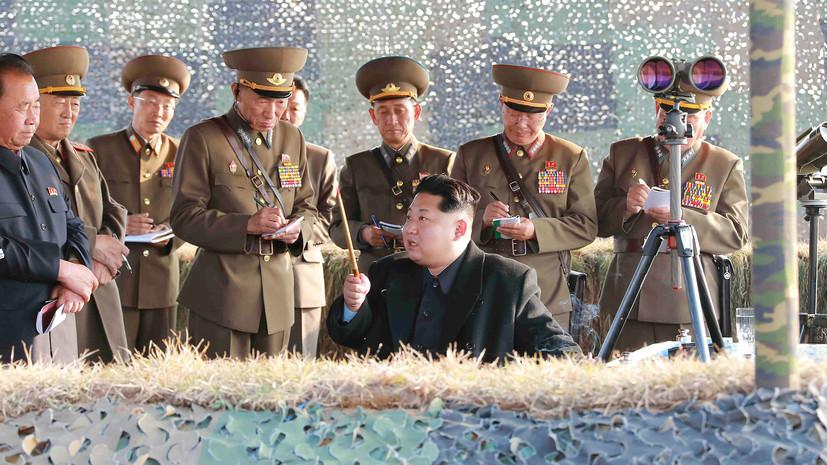 «Море огня» для «старого сумасшедшего»: КНДР сообщила о своих действиях в ответ на провокации США