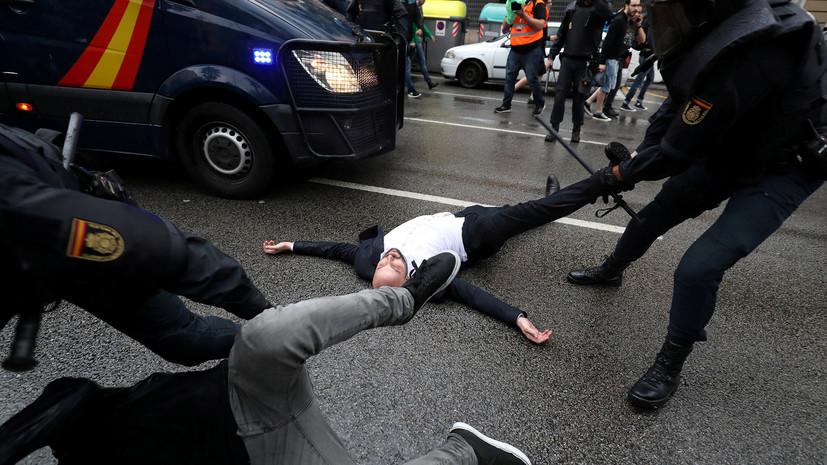 Почему Брюссель хранит молчание по поводу событий в Каталонии