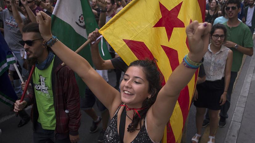 «Легитимность и достоинство»: независимость Каталонии поддержали 90% участников референдума