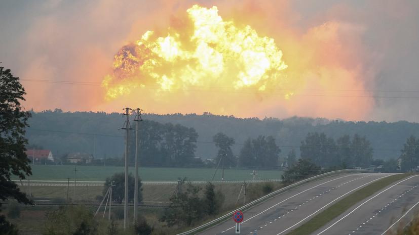 «Удар по обороноспособности»: под Винницей могло взорваться больше боеприпасов, чем ВСУ использовали в Донбассе