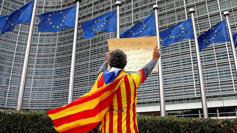 «Кризис идентичности»: как может измениться ЕС после референдума о независимости Каталонии
