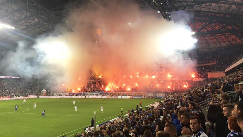 Фанаты польской «Легии» избили футболистов клуба после проигранного матча
