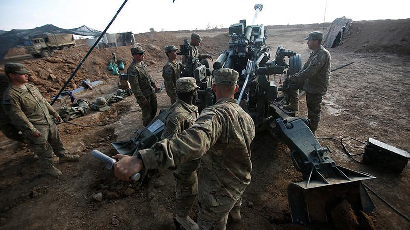 «Чёрная дыра»: в Минобороны России рассказали об использовании террористами базы США в Сирии