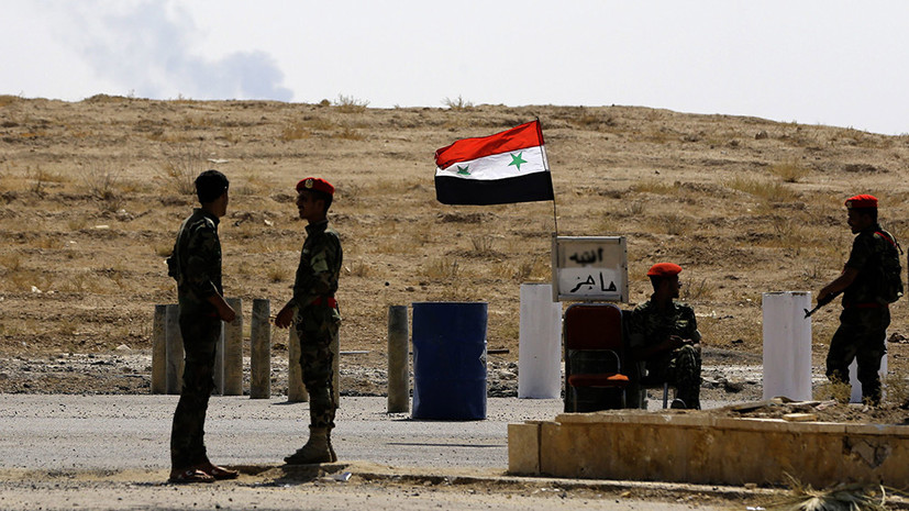 Вниз по течению Евфрата: сирийские войска вошли в Аль-Маядин — оплот ИГ в провинции Дейр эз-Зор